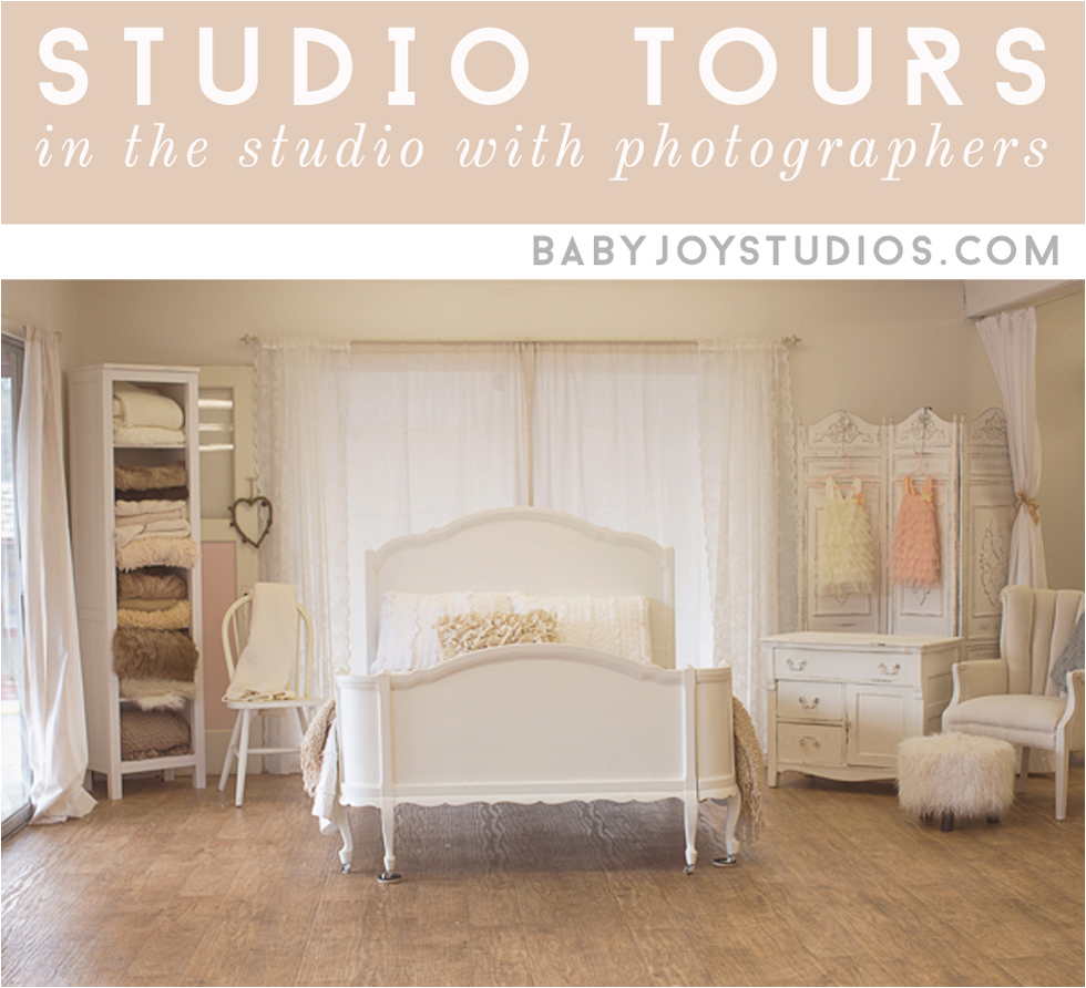 Photography Studio Tour | Aimee Pool Photography | Interviewed by Baby Joy Studios Photography Props