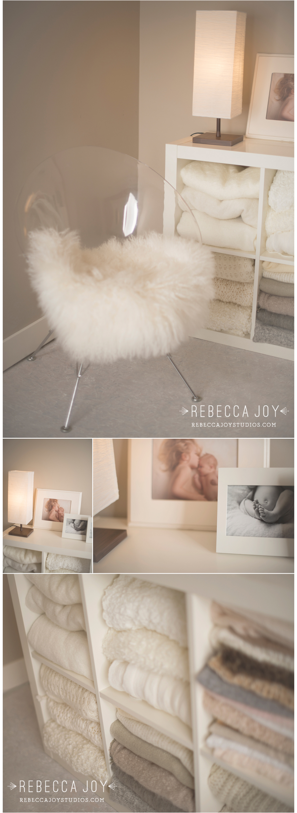 Photography Studio Tour |Studio Light | featuring Rebecca Joy Studios