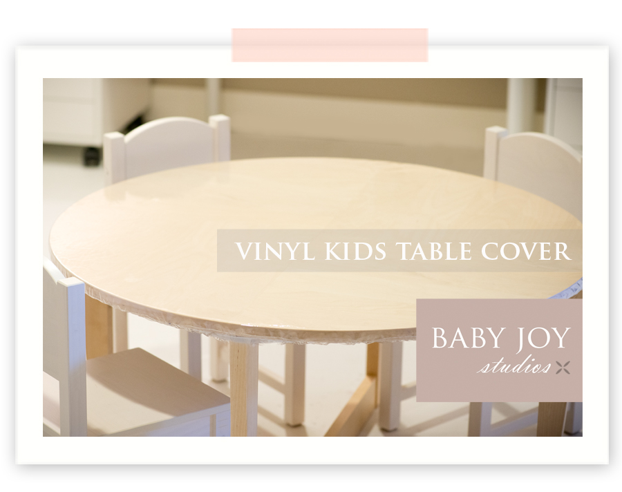 DIY | Kids vinyl craft table cover | Ikea Hack