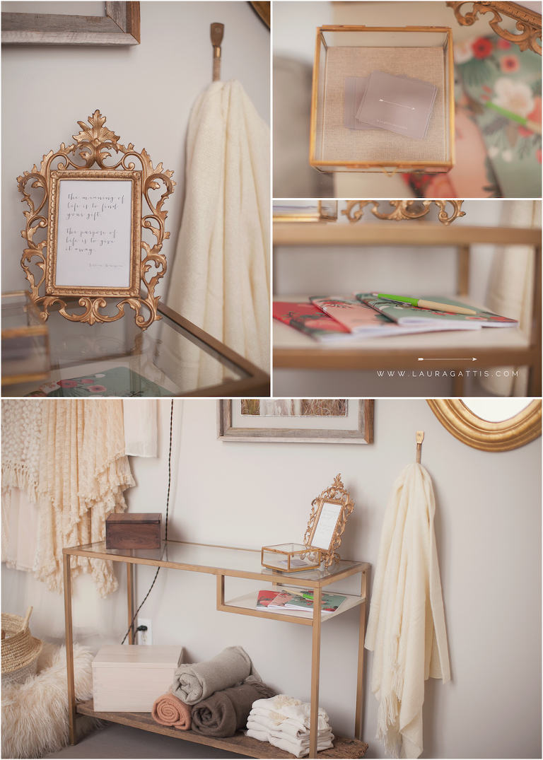 Photography Studio Tour | Laura Gattis Photography | Interviewed by Baby Joy Studios Photography Props